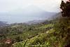 Gunung Agung and Lake Batur, Bali, Indonesia.