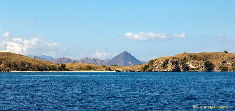 Seascape / Landscape<br /> <br /> Flores, Komodo, Indonesia