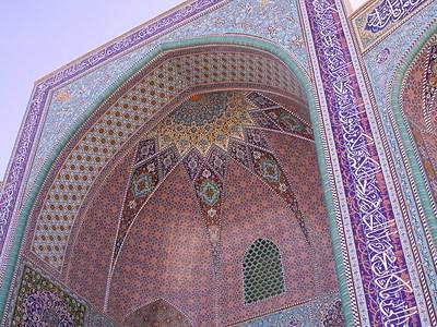 Ir 1332 Abarkuh, Jameh moskee