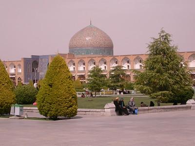 Ir 3722 Esfahan, Naqsh-e Jahan plein
