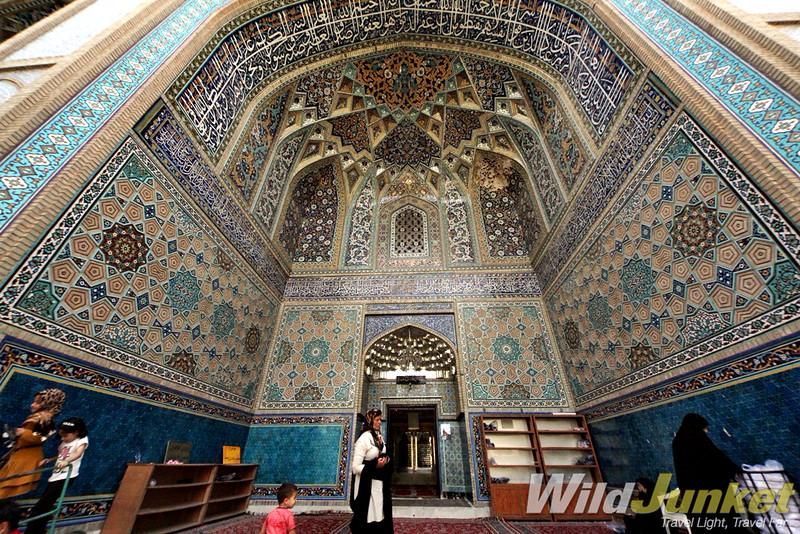 A shrine near Mashad
