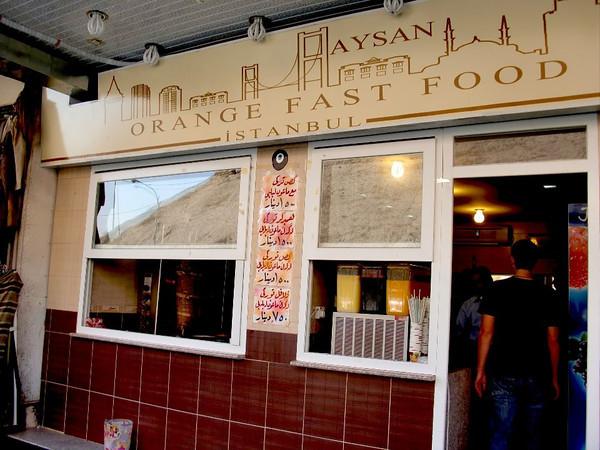 aysan orange fast food erbil iraq