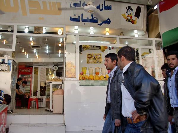 erbil iraq juice stand