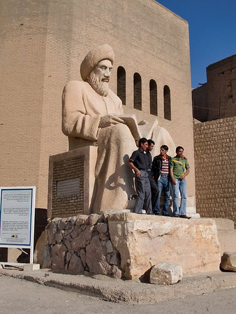 arbil citadel statue