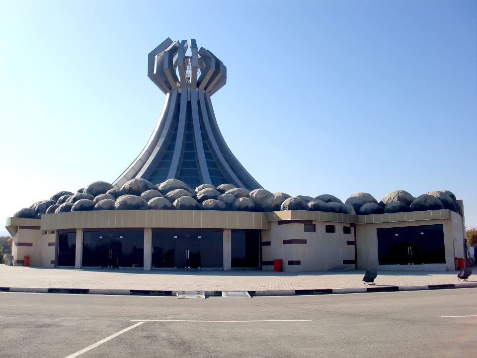 monument of halabja martyrs