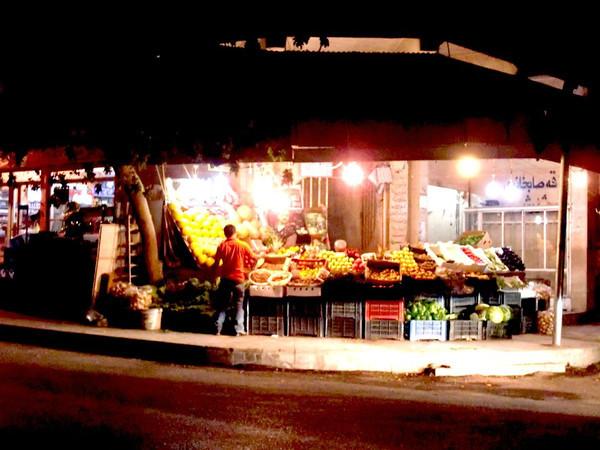 Sulaymaniyah market at night