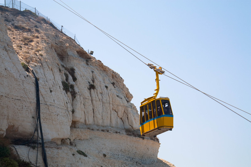 Rosh HaNikrah cable car