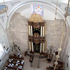 Interior of the Hurva Synagogue.