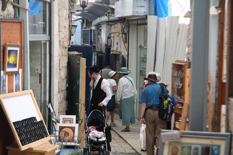 Artist colony in Safed