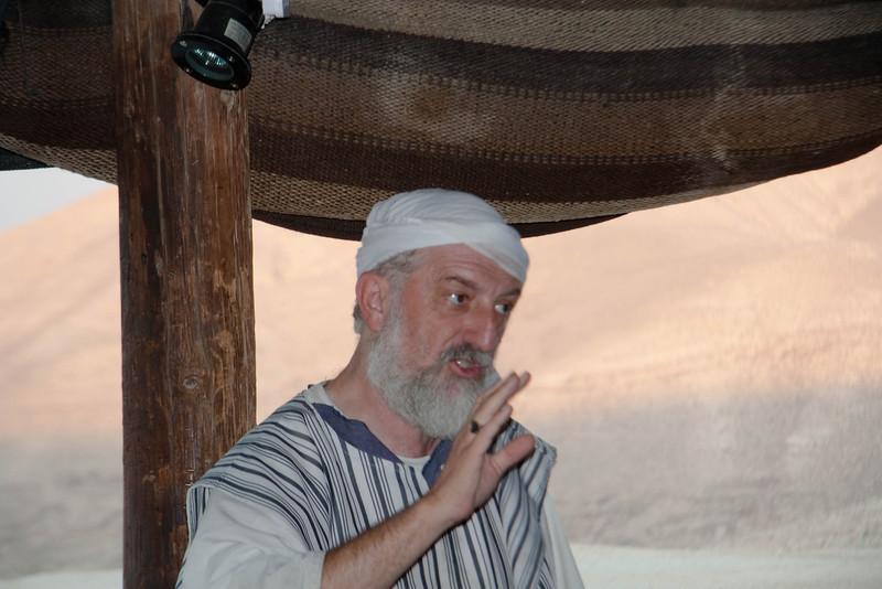 Abraham in his tent at Etz Braichim
