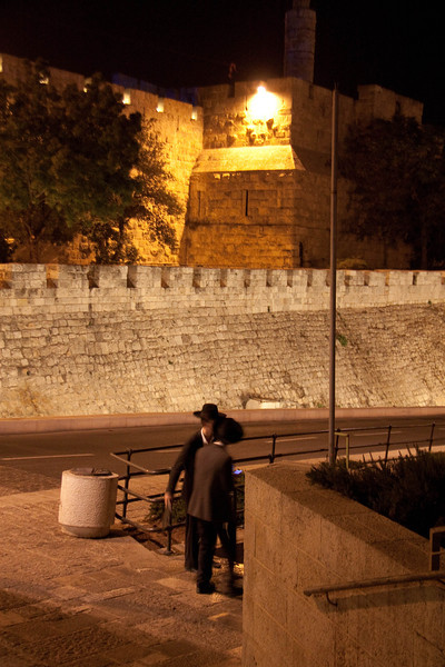 Haredi near the Jaffa gate