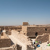 Ruins of Masada. Zealots here resisted the Roman seige for 2 years.
