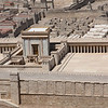Model of the 2nd temple from time of Herod, Israel Museum.