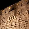 Jaffa gate at night.