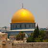 Dome of the Rock, reportedly the place where Isaac was bound and the Holy Ark rested