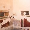Exposed frescos