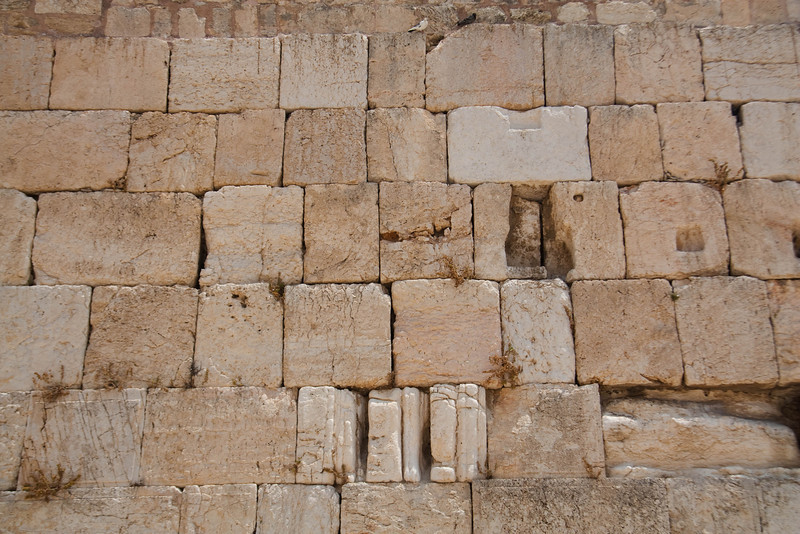The Kotel is the western retaining wall of the second temple.