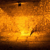 The Western Wall tunnels.