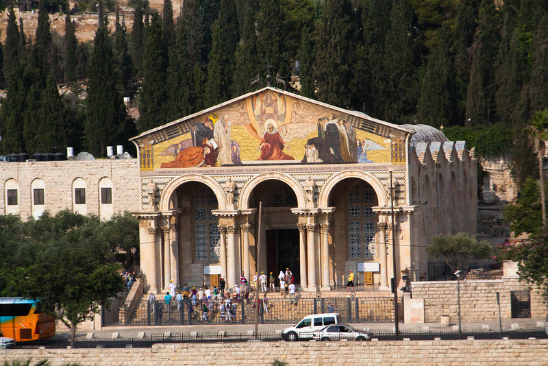 The Church of all Nations on the Mount of Olives