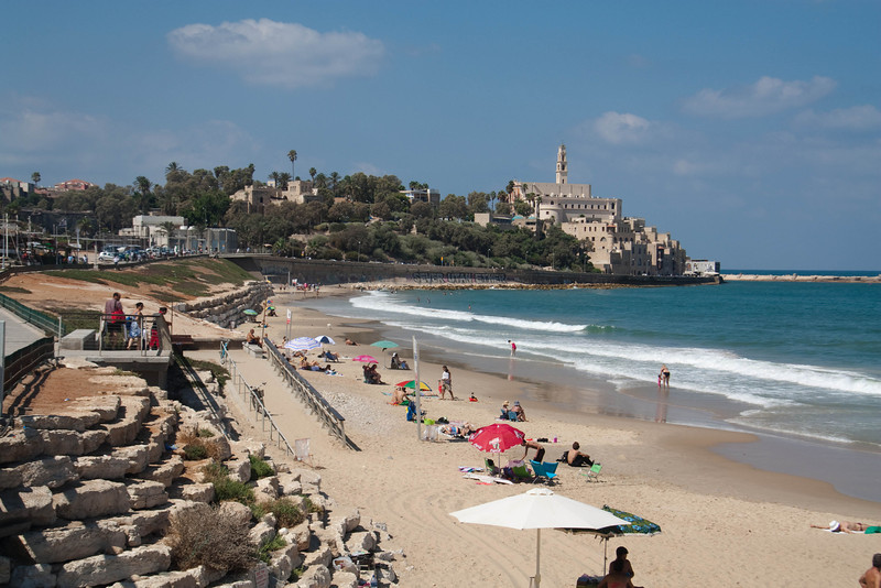 Jaffa as seen from the Tayelet