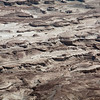 Desert floor as seen from Masada
