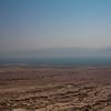 Dead sea as seen from Masada