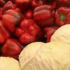 Produce at the Mehane Yehuda market.