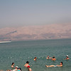 The Dead Sea is 8.6 times saltier than the ocean. It is nearly impossible to stand.