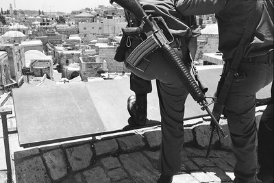 Guns in Jerusalem