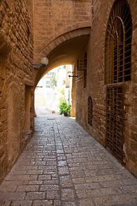 Ancient Jaffa gate.