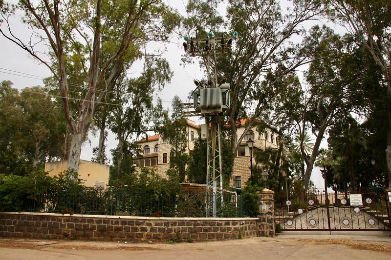 Monastery at Sermon on the Mount site