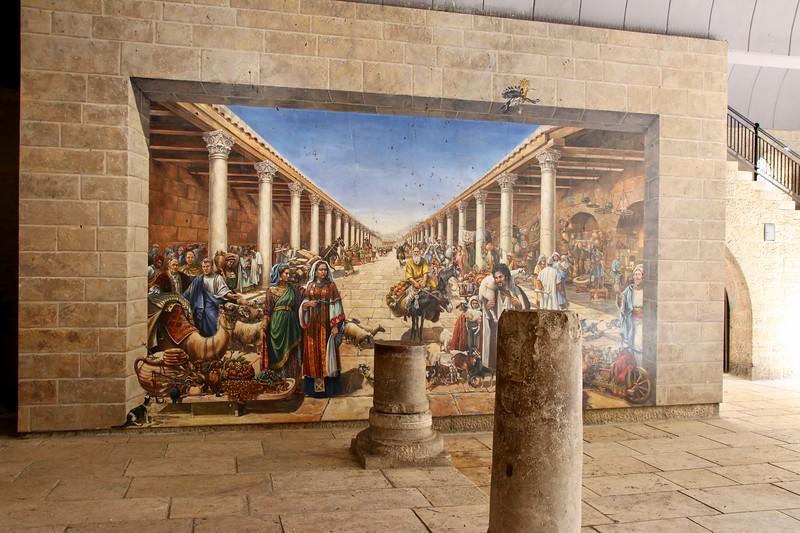 The Cardo - Old Roman Market of Jerusalem