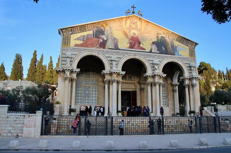 The Mount of Olives - Gethsemane