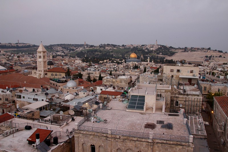 view from Tower of David