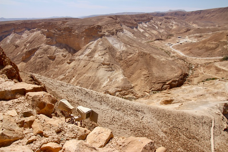 Roman siege ramp - Masada National Park