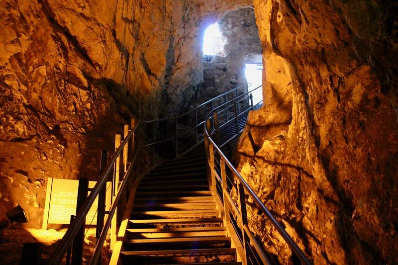Cistern - Tel Megiddo (Armageddon) National Park