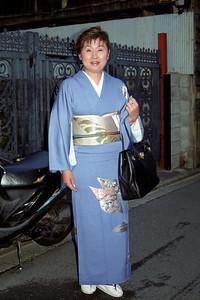 A traditional kimono...
