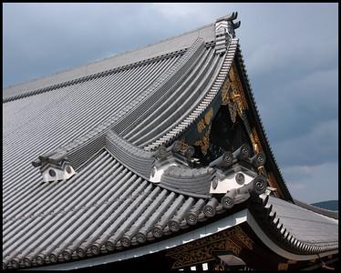 Roof of Higoshi Hongan-ji, Kyoto