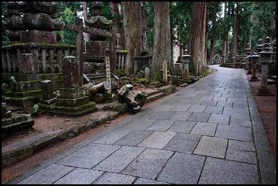 Okanoin cemetery, Koyasan