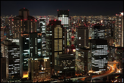 View from Umeda Sky Building, Osaka