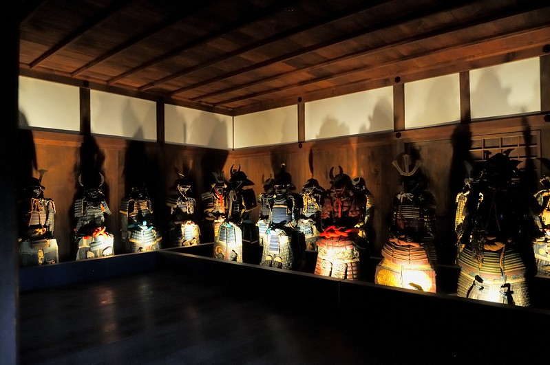 Samurai armor - Himeji Castle, Japan