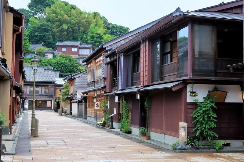 Street scene - Higashi Chaya District - Kurashiki, Japan