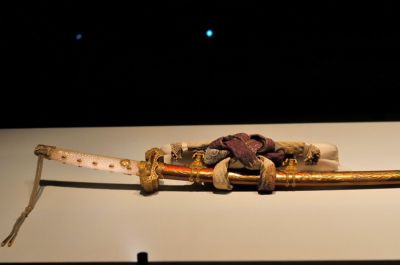 Sword and scabbard detail - Tokyo National Museum