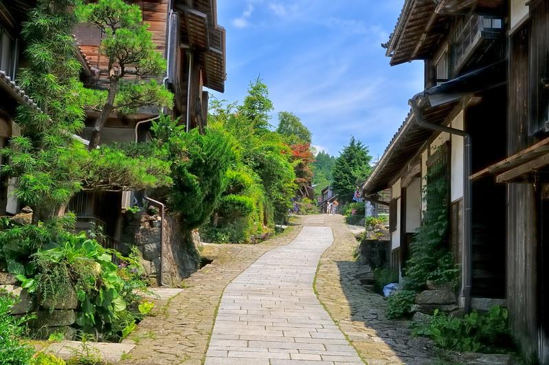 Nakasendo - Edo Period post road - Magome, Japan
