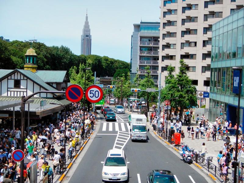 Anti-nuclear protest at Harajuku - Tokyo, Japan