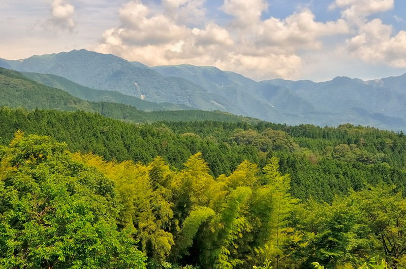 Nakasendo view - Edo Period post road - Magome, Japan