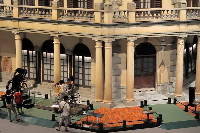 19th century city architecture - Edo Tokyo Museum