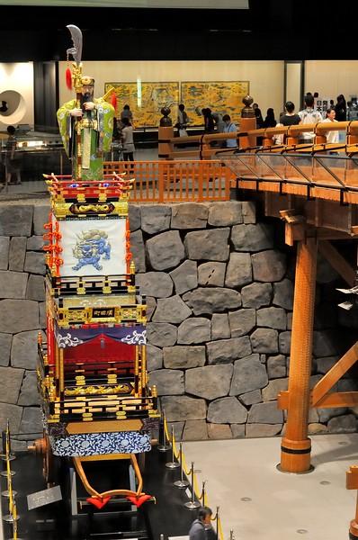 Nishibashi and matsuri cart  - Edo Tokyo Museum