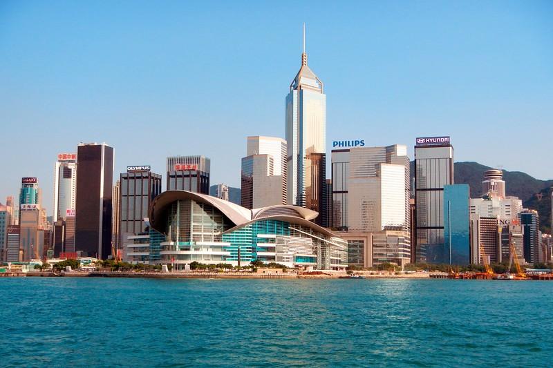 Hong Kong Island and Harbor