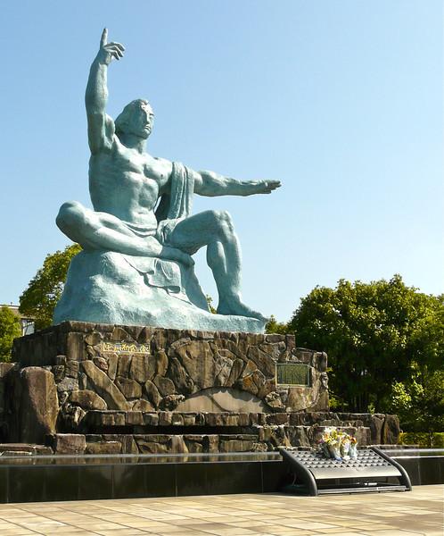 Peace Statue in Peace Park